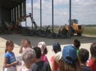 Villalpando cede un terreno para una planta de almacenamiento de escombros