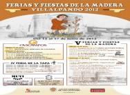 FERIAS Y FIESTAS DE LA MADERA. VILLALPANDO 2012
