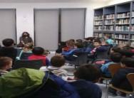 Los escolares de Villalpando dan la vuelta al mundo sin salir de la biblioteca municipal