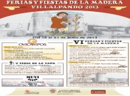 FERIAS Y FIESTAS DE LA MADERA 2013