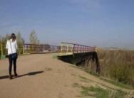 Villalpando refuerza la seguridad de su puente sobre el Valderaduey