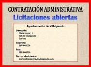 Contrato de obra de construcción de edificio municipal destinado a Biblioteca, Telecento y Archivo Histórico del Ayuntamiento de Villalpando